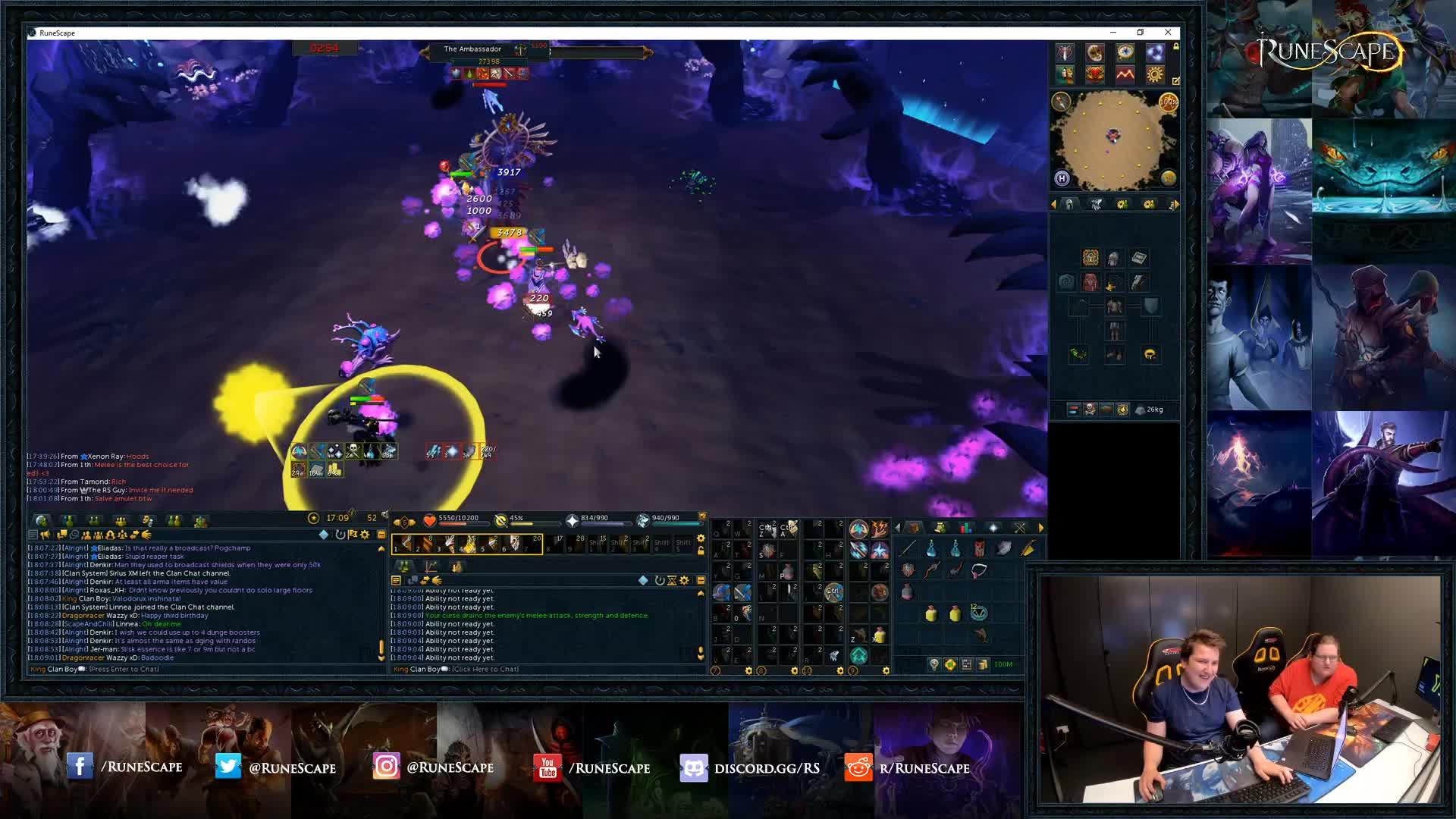 RuneScape - bxvbcvb - Twitch