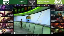 (REBROADCAST) LCS Summer: FlyQuest vs. OpTic Gaming