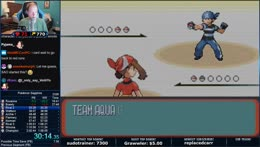 Pokemon Sapphire World Record Attempts | New Emote: gunSafeStrats