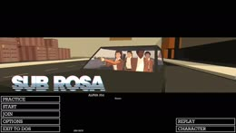 Birthday Strem!  Sub Rosa With The Late Shift!