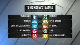LCS Academy: Golden Guardians vs. Counter Logic Gaming