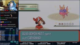 Pokemon Sapphire World Record Attempts ft. Bobelle