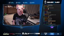 what  | @shroud on socials for updates
