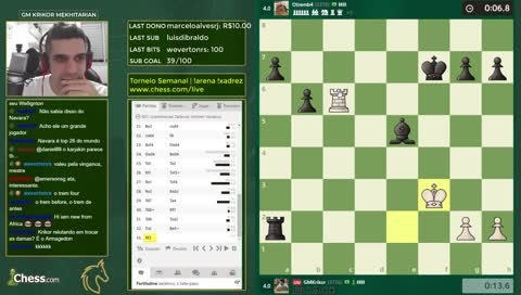 Torneios semanais de Blitz e Bullet | !arena !xadrez !social