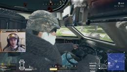 inside the amphibious car