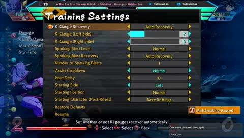 matchmaking cooldown reset