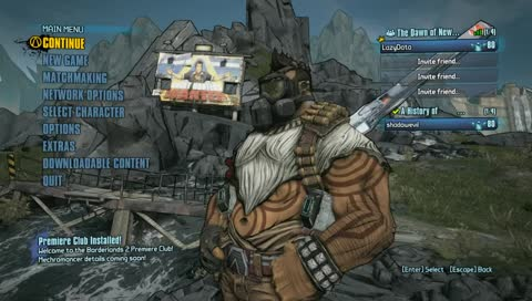 Matchmaking borderlands 2