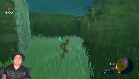 Robbie Daymond plays Legend of Zelda: Breath of the Wild