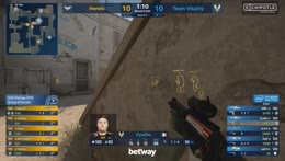 ZywOo shuts down Heroic with an ACE (Dust2)