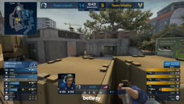 nitr0 stunning quad kill hold to secure series point (Overpass)