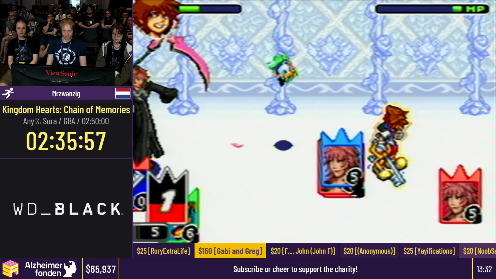 Esamarathon2 Esasummer19 Kingdom Hearts Chain Of Memories