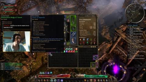 Grim Dawn 2h Lightning Warder Build