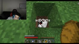 bad crying over a minecraft fi-