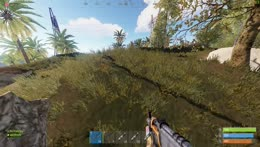 Rust is not a easy game, but I get carried so its okay