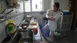 [Eng/中文/트수] 1 day 1 yuri's meal :수제비