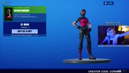 we are back BABY | creator code corinna