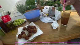 Crete, Greece - Cooking with my aunt