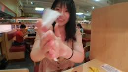 [Eng/中文/트수] last day in hk ! sushiro