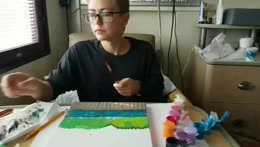 Painting and Chillin in the Hospital !bmt !skeeter !cml