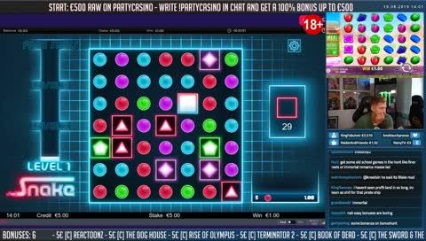 ❤️ Casino Slots + Bonus Hunt!!❤️ - Write !nosticky1 & 2 in chat for the best bonuses! - @CasinoDaddy on socials!