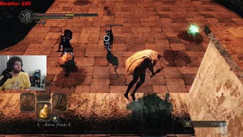 !spoilers Dark Souls II Blind Playthrough Day 2!