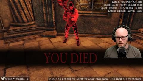 Dark Souls II Blind Playthrough - Insert Dragon Skeleton Pun Here [Wizard] [Real Beard] [British]