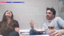 Fap in the bath
