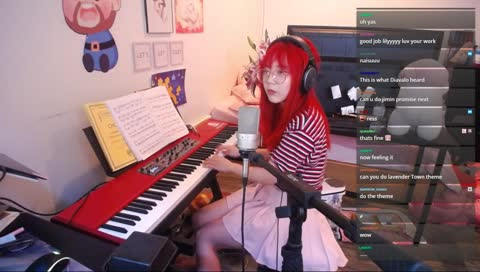 lily doing giornos theme