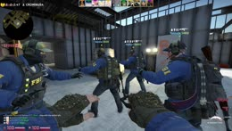 CS WITH GIRL SQUAD AWP QUEEN Kapp