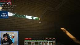 ZeRo makes a house in minecraft