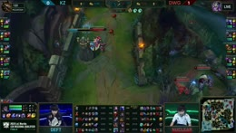 Deft baron steal vs DWG Game 2