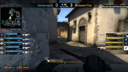 GOTV LIVE 🎵🔴 GamerLegion vs. Budapest Five - BO1 - Quarter-final/winner qualifies [DreamHack Masters Malmö 2019 Europe Open Qualifier]