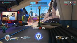 Overwatch on PC - Reinhardt/Tank Main and we are now Master Rank. Let's rank up more!  Tier 1 subs are 2.50 instead of $5...so please sub!!!