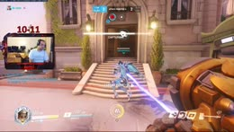 Overwatch on PC - Reinhardt/Tank Main and we are now Master Rank. Let's rank up more! Tier 1 subs ar