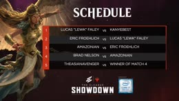 THE ELEAGUE SHOWDOWN: MTG Arena presented by Intel live now!