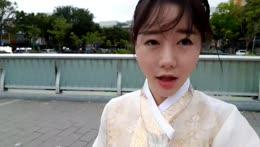 outside 창덕궁 happy chuseok