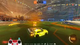 360 fake into 1v2 dribble