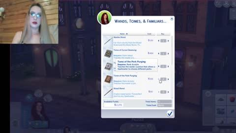 Sims 4 Realm of Magic, AMA