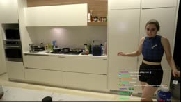 Cooking with Livbev6 :) | Dinner here, then dessert at her channel ;)