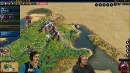 Armchair Admirals! w/ Lewis, Duncan, AlexTheRambler, Dr Simon Clark, Rythian, Daltos, & TheSpiffingBrit! - Civilization 6!