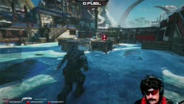 Doc having a great time in Gears 5, game tells him to deal with it