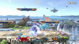 Falco vs Fox, anime fight