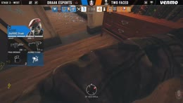 2Faced vs. Draak Esports | Rainbow Six: US Nationals - 2019 | Stage 3 | Week 1 | Western Conference Top 4 | Ubisoft [NA]