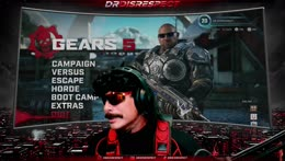 Gears w/ Nickmercs, High Distortion, CDNThe3rd and PRO5PECT | @DrDisrespect