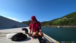 ocean fishing in countryside busan korea