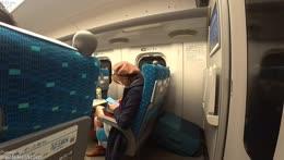 JAPAN !Kansai Trip - mostly F Shinkansen !socials !tip !crypto