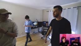 REACTING TO HOUSE TOUR W/ @Froste (A WEST COAST STREAM)    100 Thieves Mob House Los Angeles