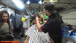 !Juantafanta Haircut in the hood Kapp