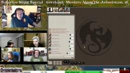 Saturday Night Special - Greyhawk: Mystery Along the Janustream; Fantasy Grounds; 5E