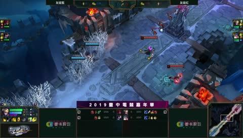 台中電競嘉年華 國動+小雲 開局就知道GG
